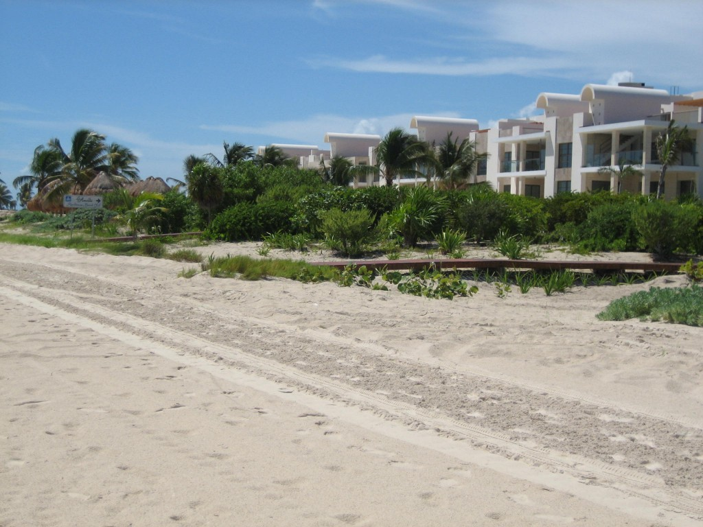 Deserted La Amada beach